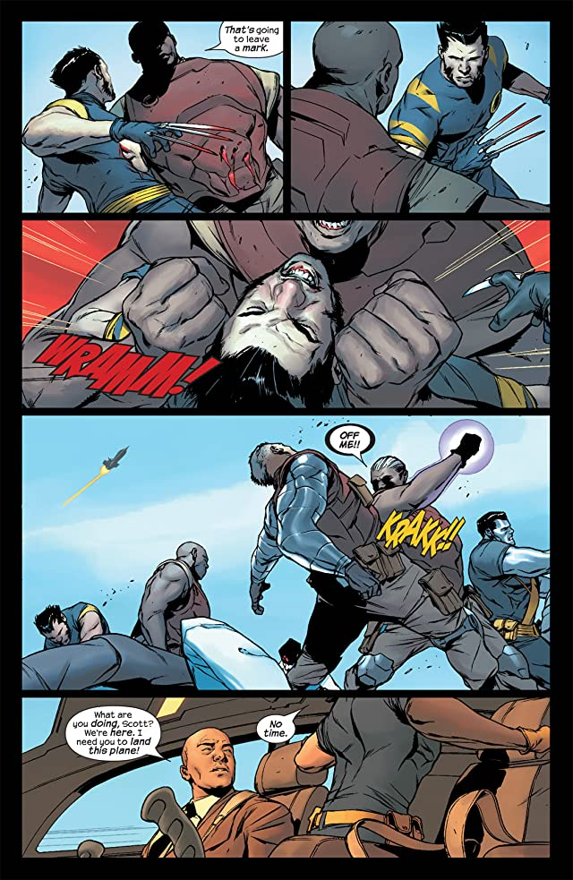 click for super-sized previews of Ultimate X-Men #78