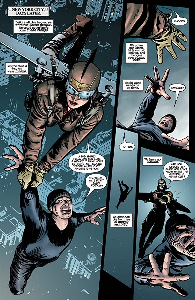 click for super-sized previews of Mystery Men #4