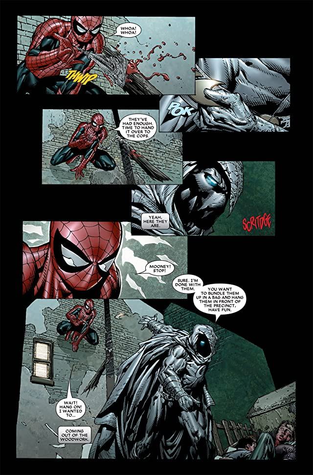 click for super-sized previews of Moon Knight (2006-2009) #7