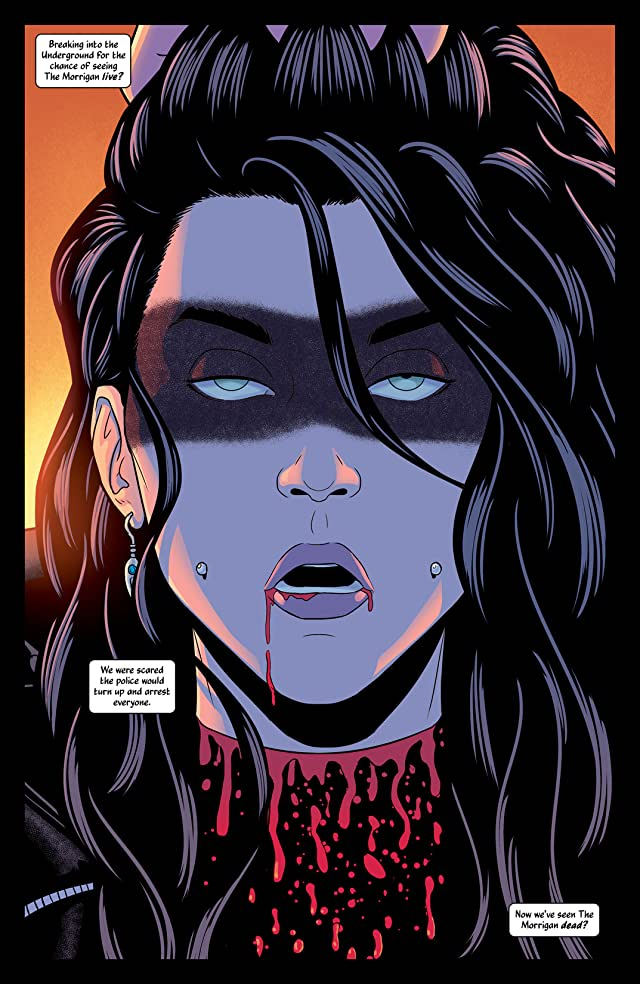 click for super-sized previews of The Wicked + The Divine #3
