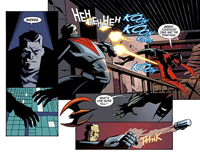 click for super-sized previews of Batman Beyond 2.0 (2013-2014) #30