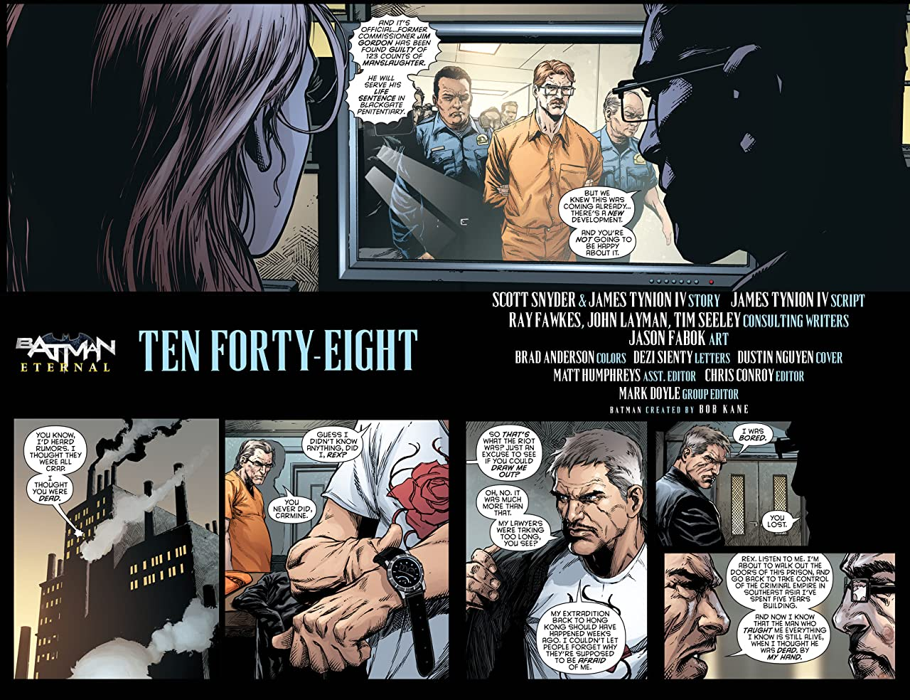 Batman Eternal (2014-2015) #21