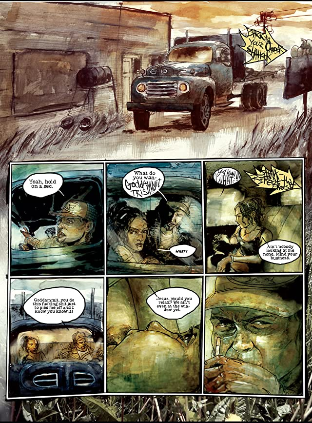 click for super-sized previews of The Boy Who Made Silence #2