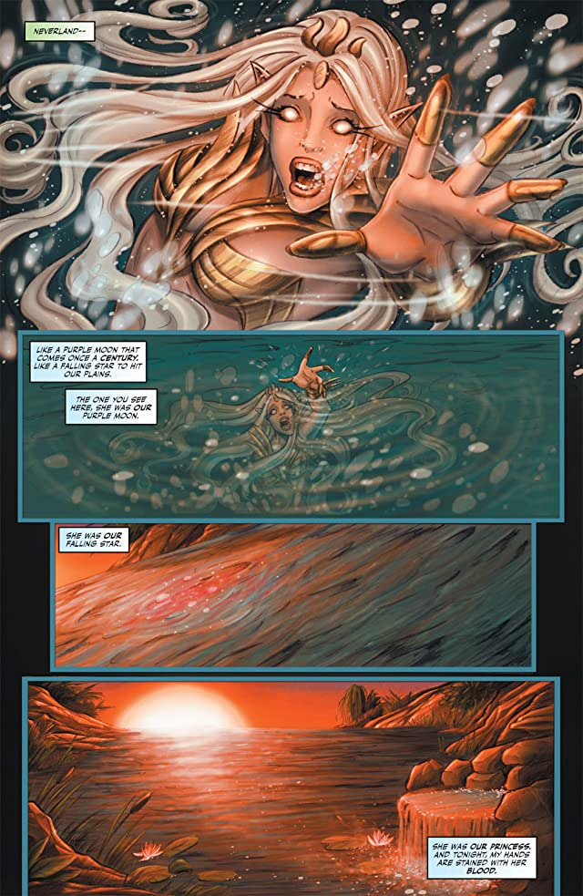 click for super-sized previews of Grimm Fairy Tales Presents: Tales From Neverland #1 (of 3)