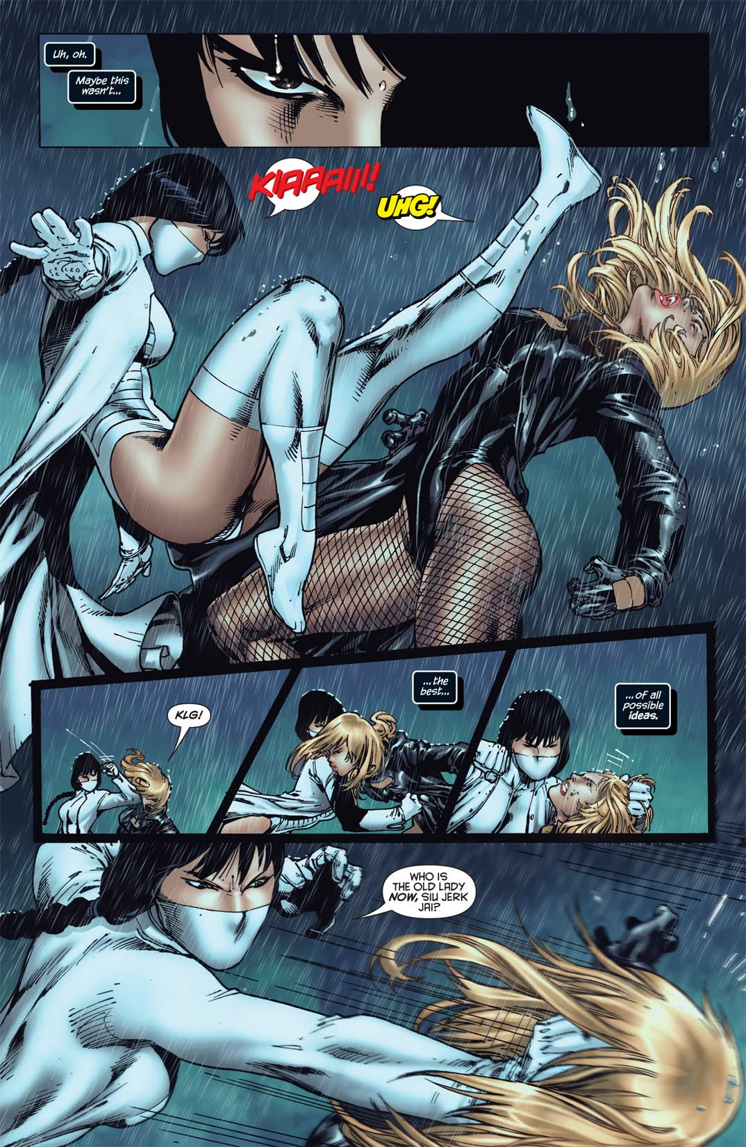 Birds of Prey (2010-2011) #4