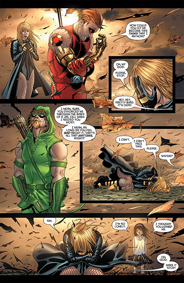 click for super-sized previews of Birds of Prey (2010-2011) #9