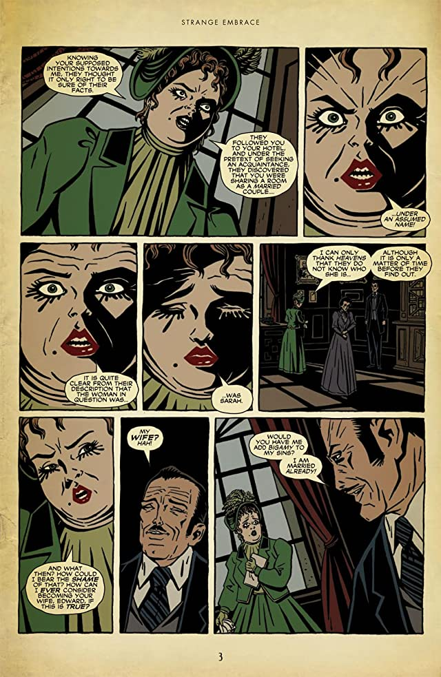 click for super-sized previews of Strange Embrace #7