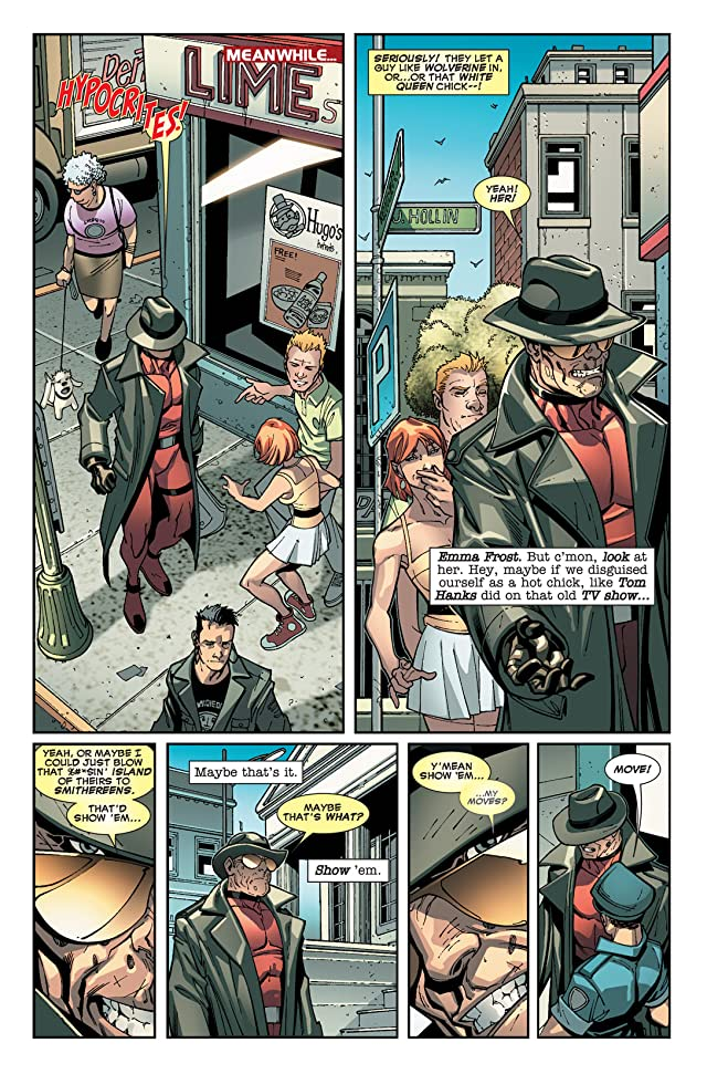 click for super-sized previews of Deadpool (2008-2012) #16