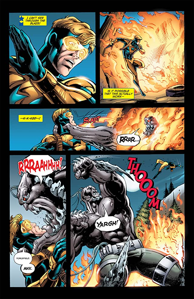 click for super-sized previews of Booster Gold (2007-2011) #46