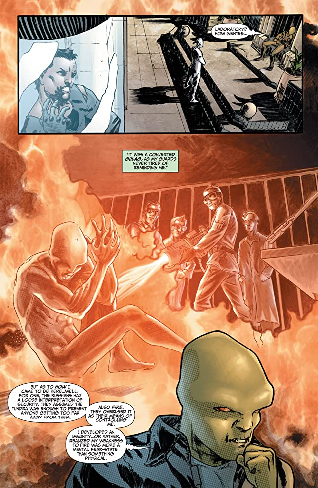 click for super-sized previews of Flashpoint: The Outsider #3