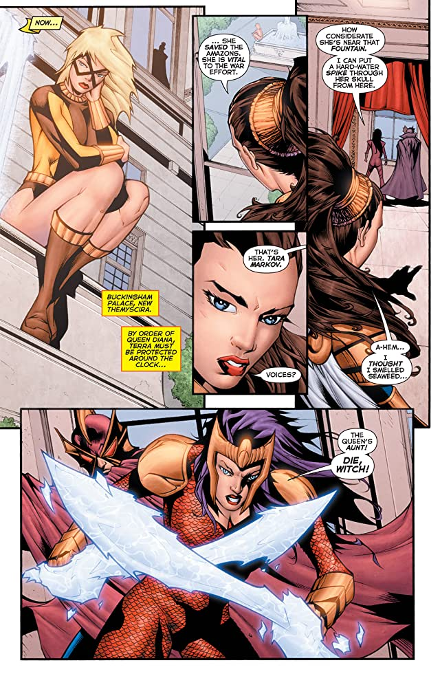 click for super-sized previews of Flashpoint: Wonder Woman and the Furies #3