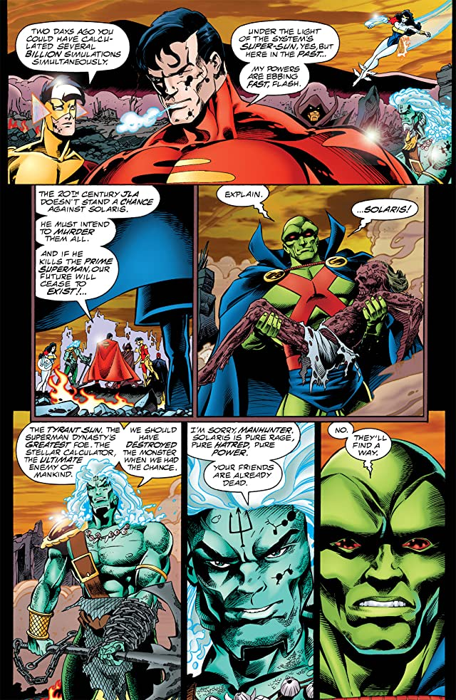 click for super-sized previews of DC One Million #2