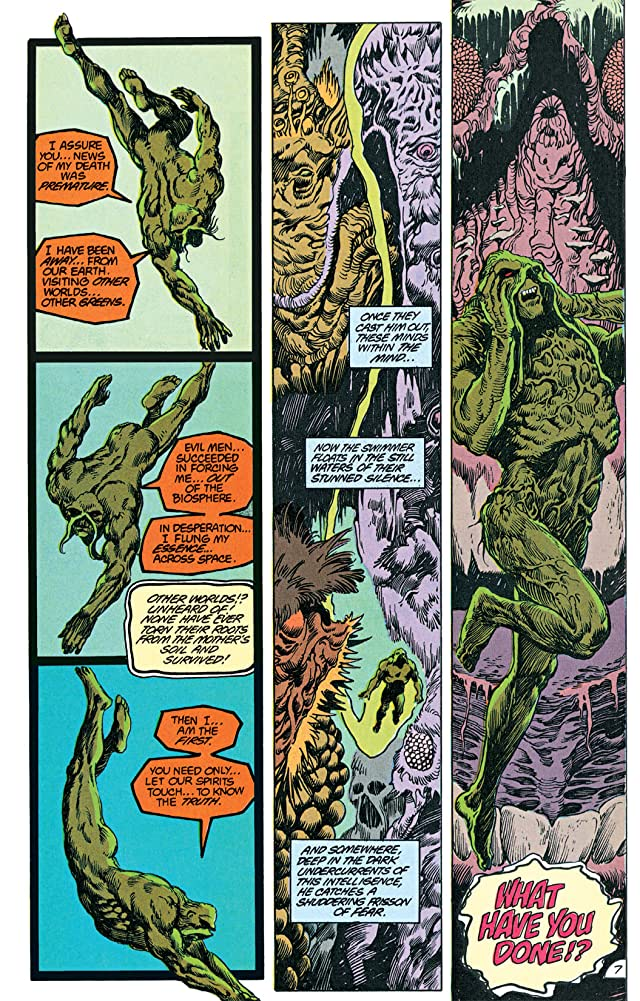 click for super-sized previews of Swamp Thing (1982-1996) #65