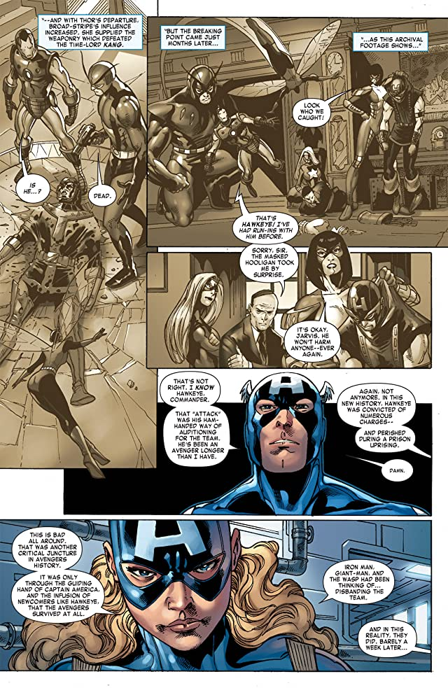 click for super-sized previews of Captain America Corps #3