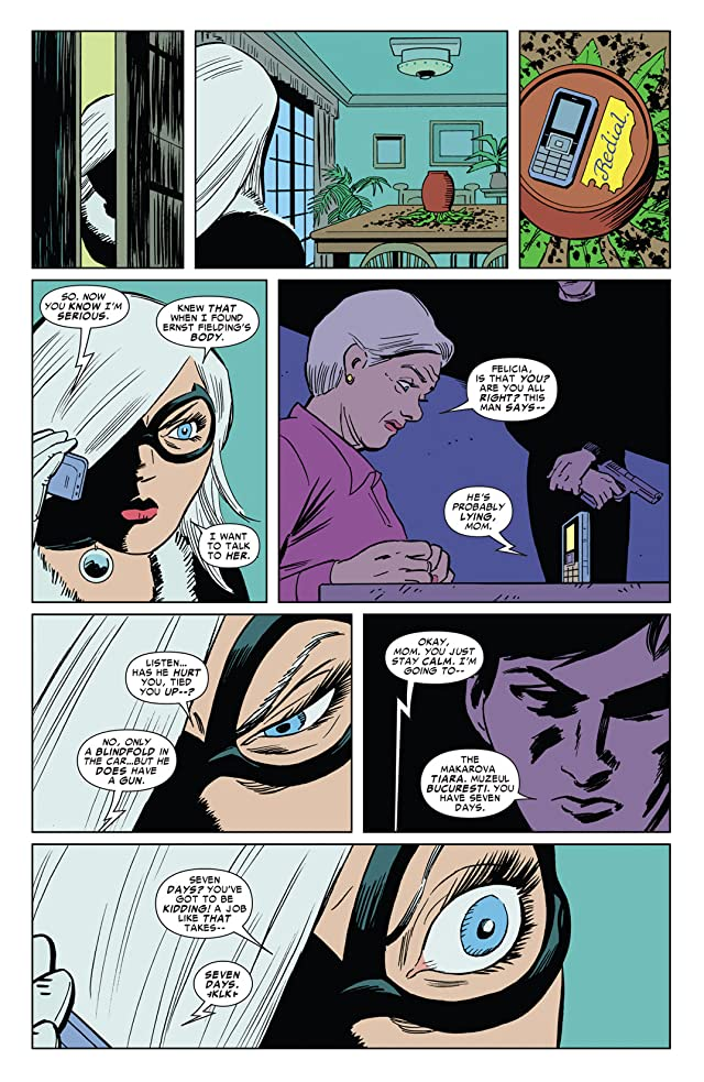 click for super-sized previews of Amazing Spider-Man Presents: Black Cat #2