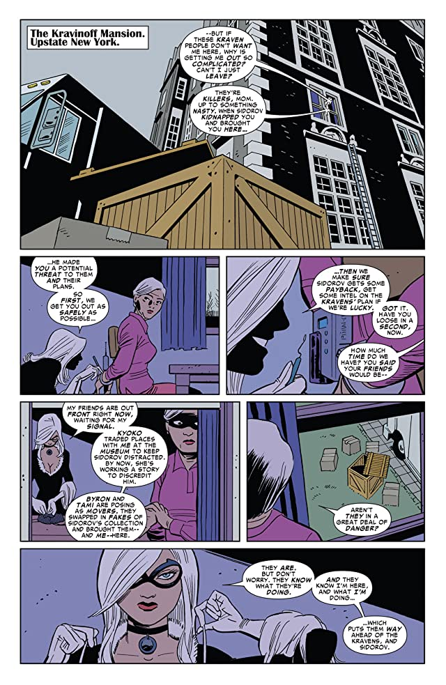 click for super-sized previews of Amazing Spider-Man Presents: Black Cat #4