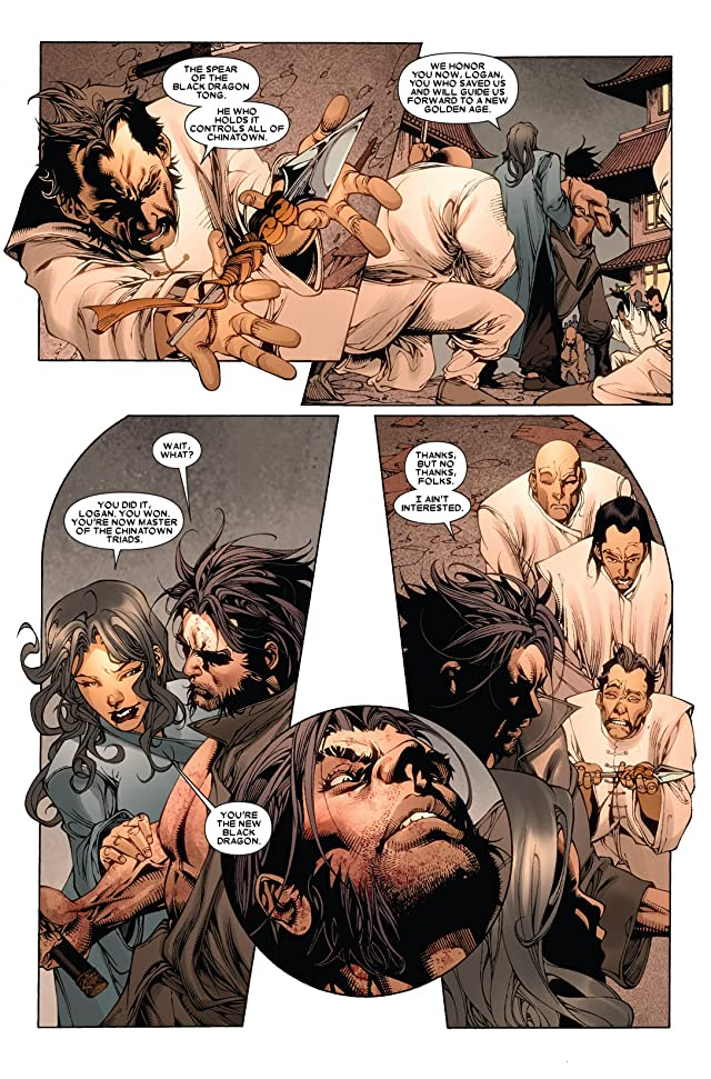click for super-sized previews of Wolverine: Manifest Destiny #4
