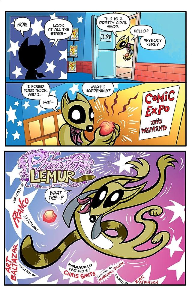 The Phantom Lemur #1