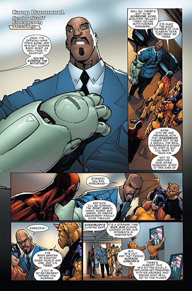 Avengers: The Initiative #21