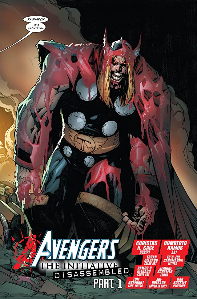 click for super-sized previews of Avengers: The Initiative #21