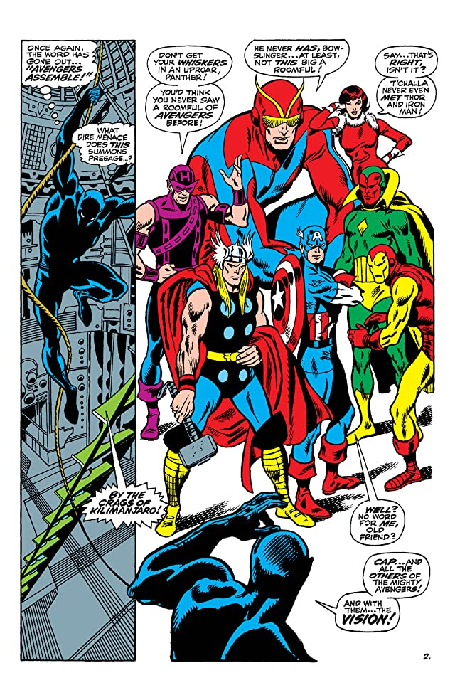 click for super-sized previews of Avengers (1963-1996) #58