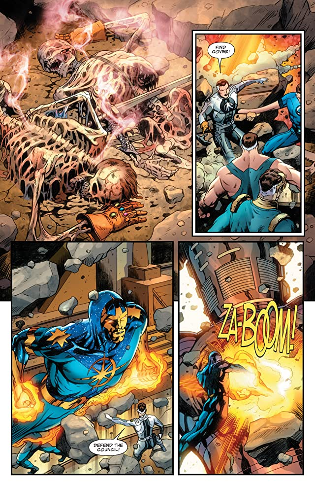 click for super-sized previews of Fantastic Four (1998-2012) #572
