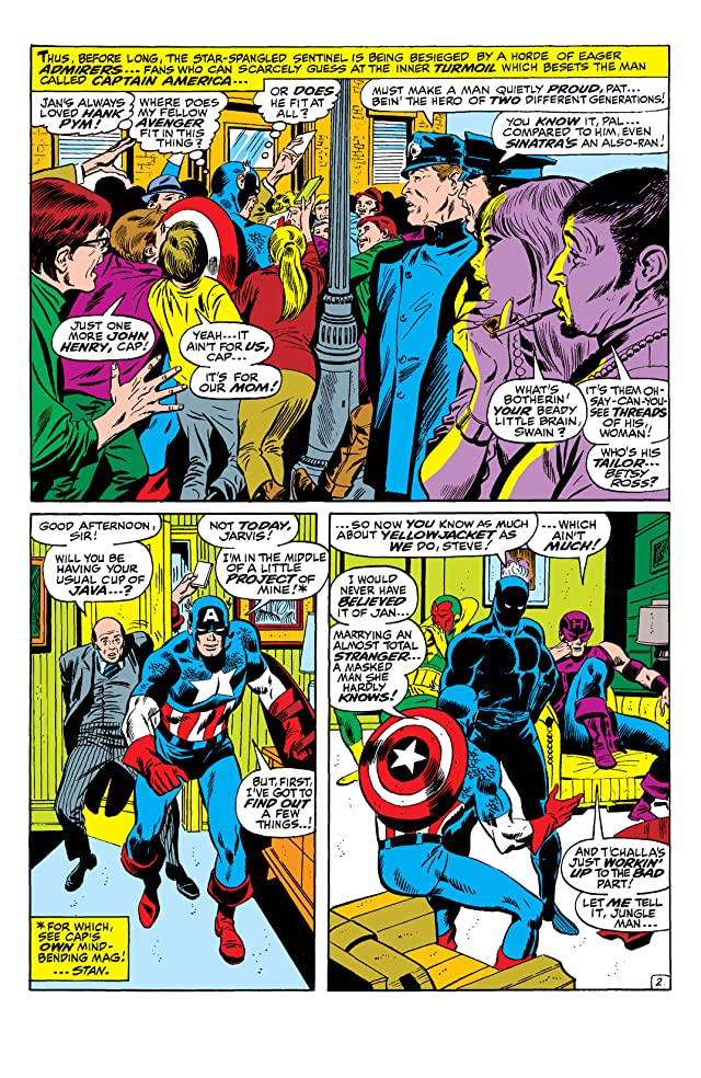 click for super-sized previews of Avengers (1963-1996) #60