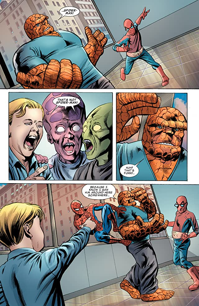 click for super-sized previews of Fantastic Four (1998-2012) #574