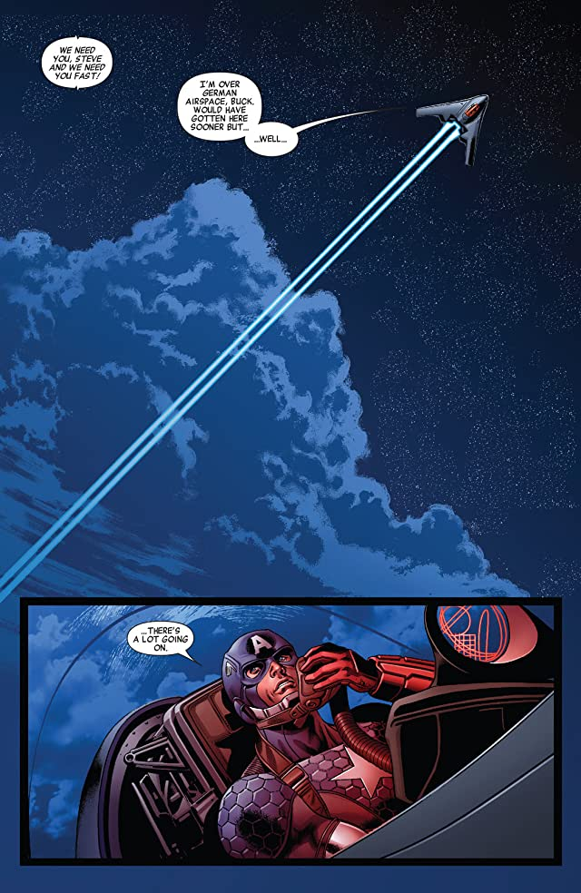 click for super-sized previews of All-New Invaders (2014-) #9