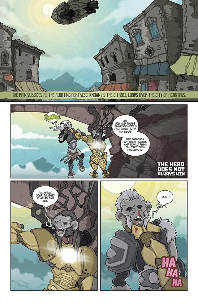 click for super-sized previews of The Kingdom #6