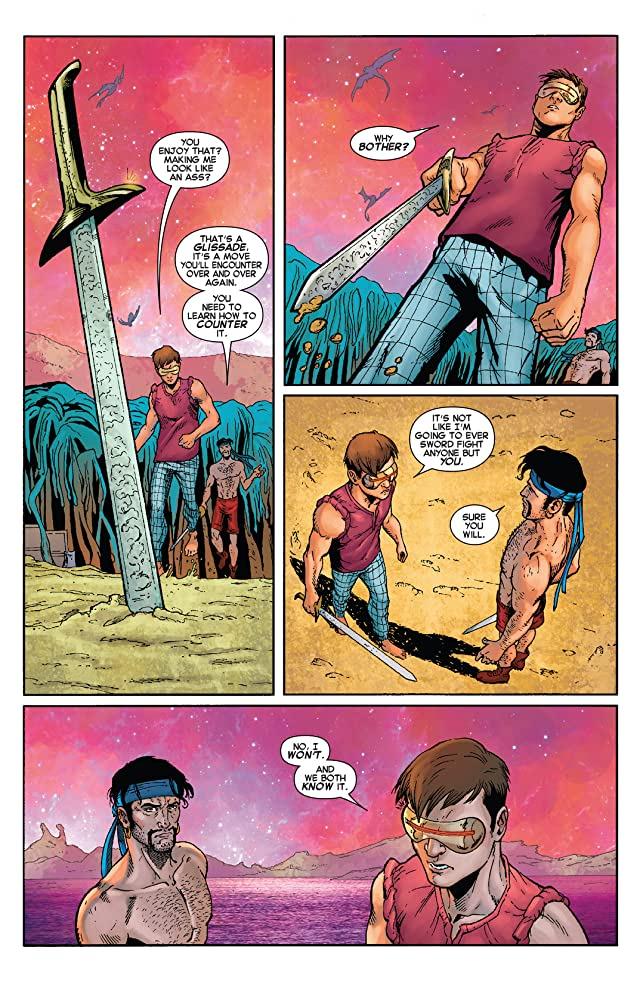 click for super-sized previews of Cyclops (2014-) #4