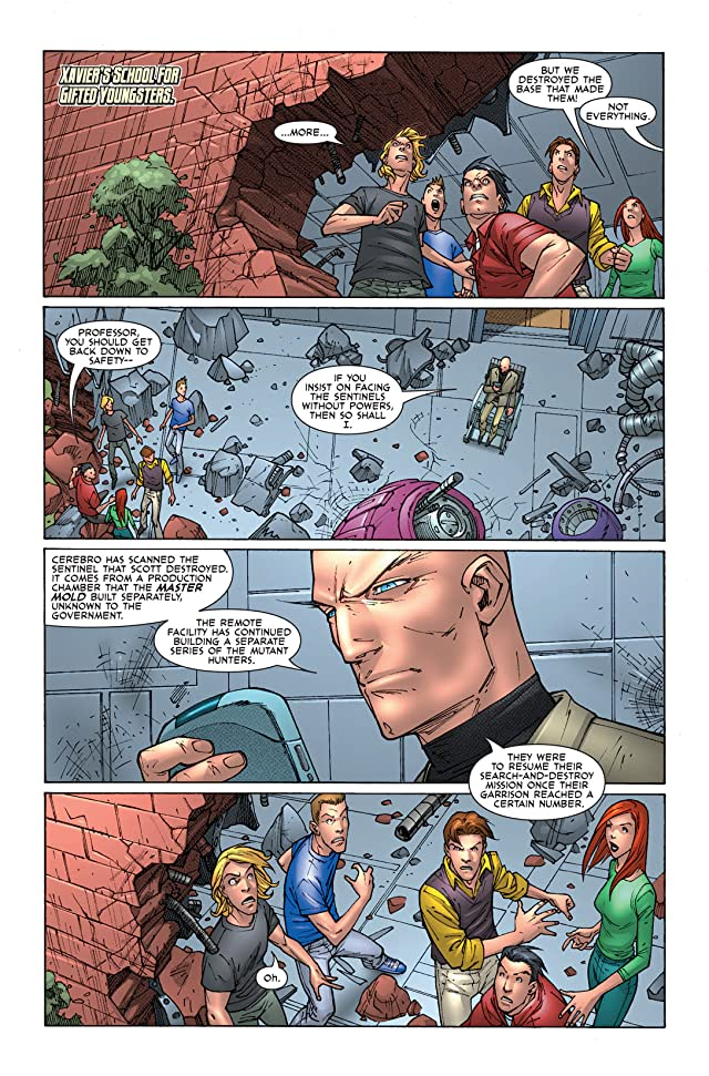 click for super-sized previews of X-Men: First Class II #7