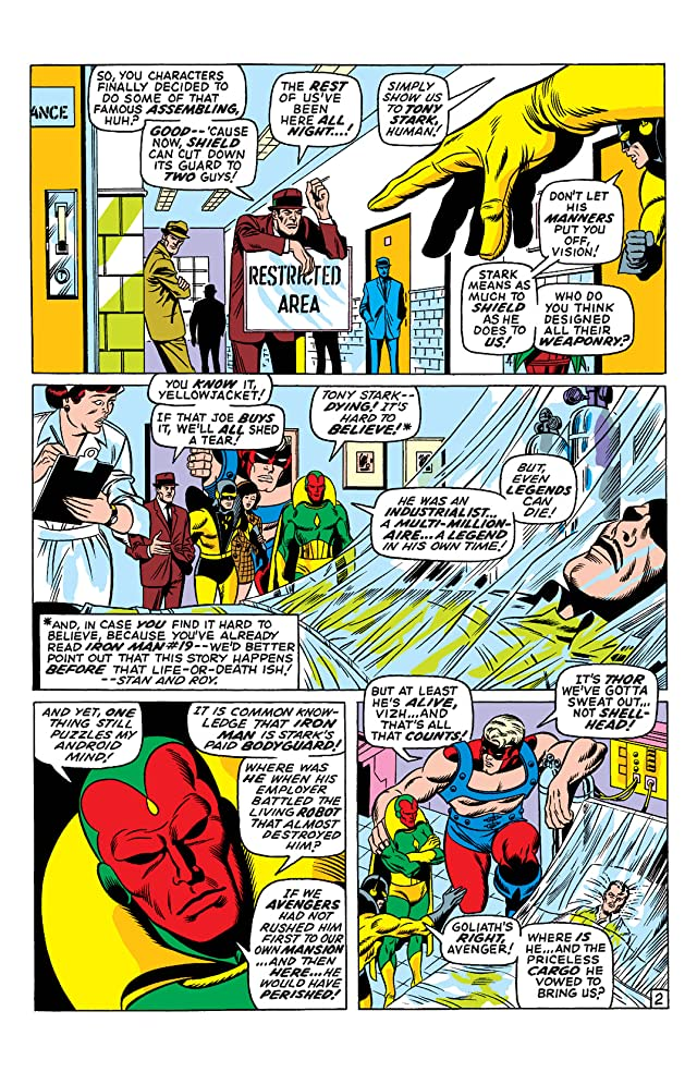 click for super-sized previews of Avengers (1963-1996) #69