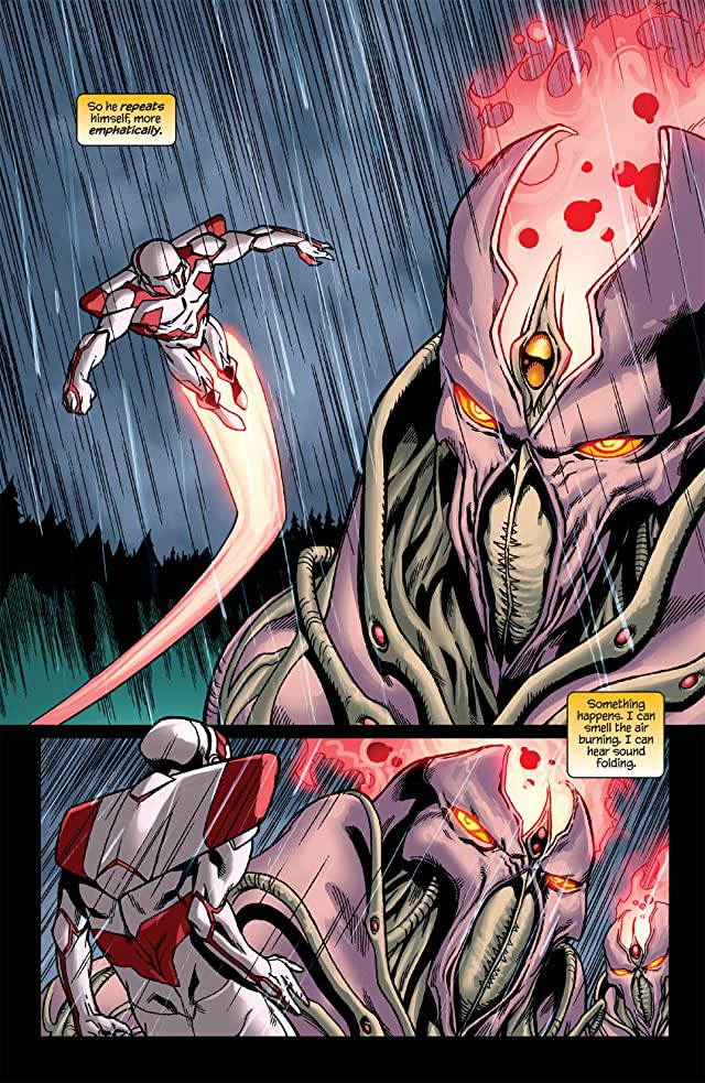 click for super-sized previews of Stan Lee's Soldier Zero #11