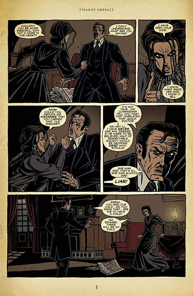 click for super-sized previews of Strange Embrace #8