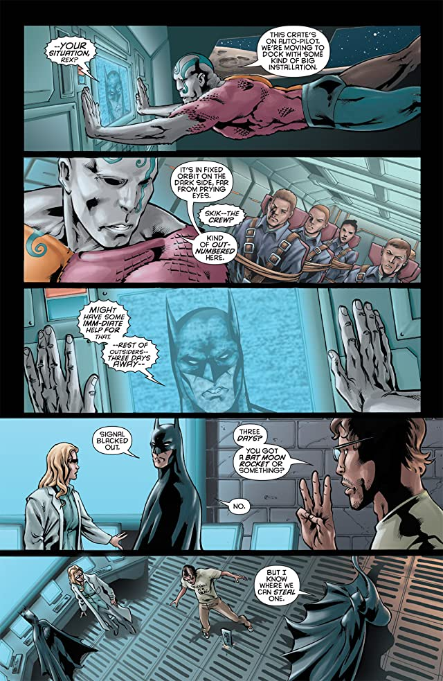 click for super-sized previews of Batman and the Outsiders #6