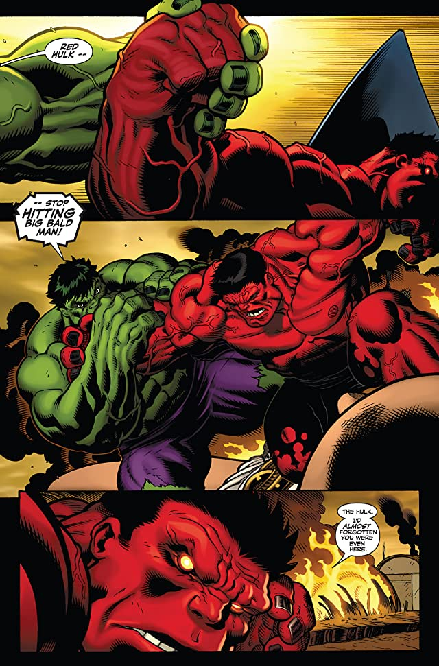 click for super-sized previews of Hulk (2008-2012) #4