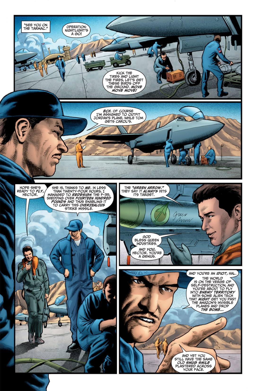 Flashpoint: Hal Jordan #3 (of 3)