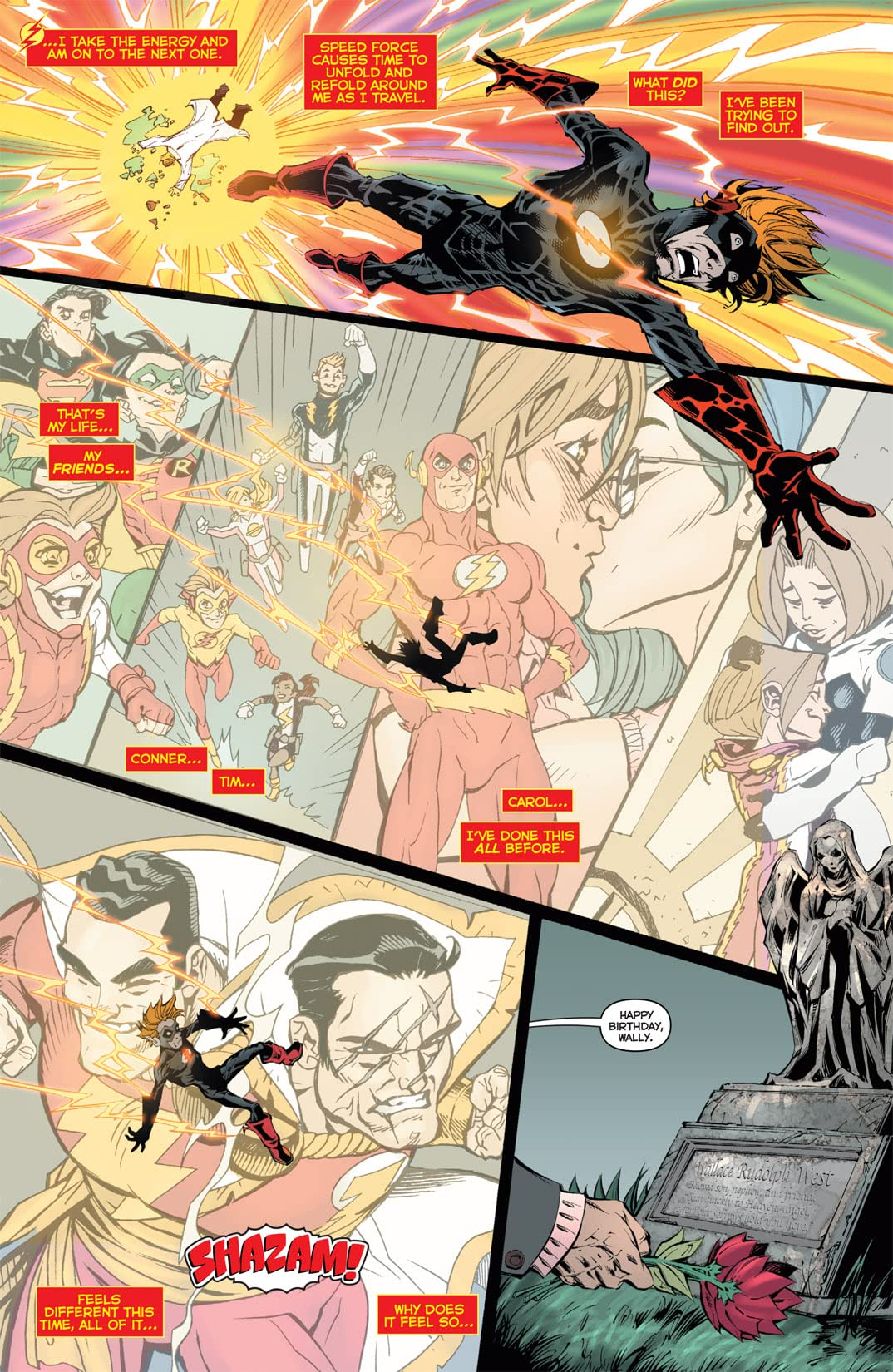 Flashpoint: Kid Flash Lost #3 (of 3)