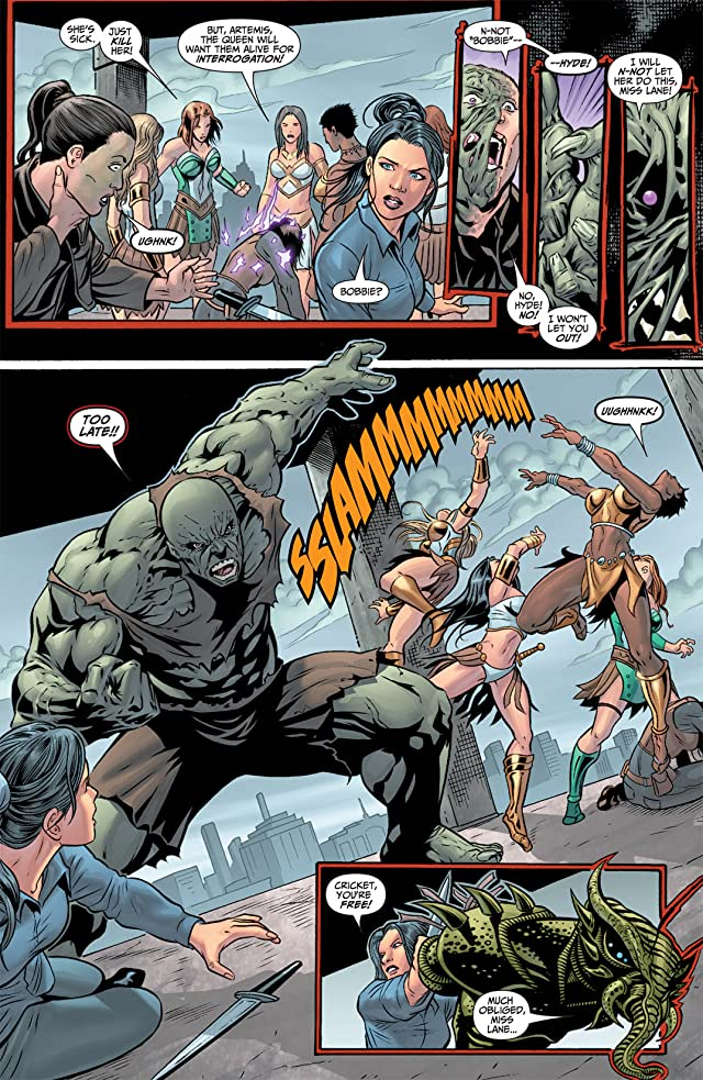 click for super-sized previews of Flashpoint: Lois Lane and the Resistance #3