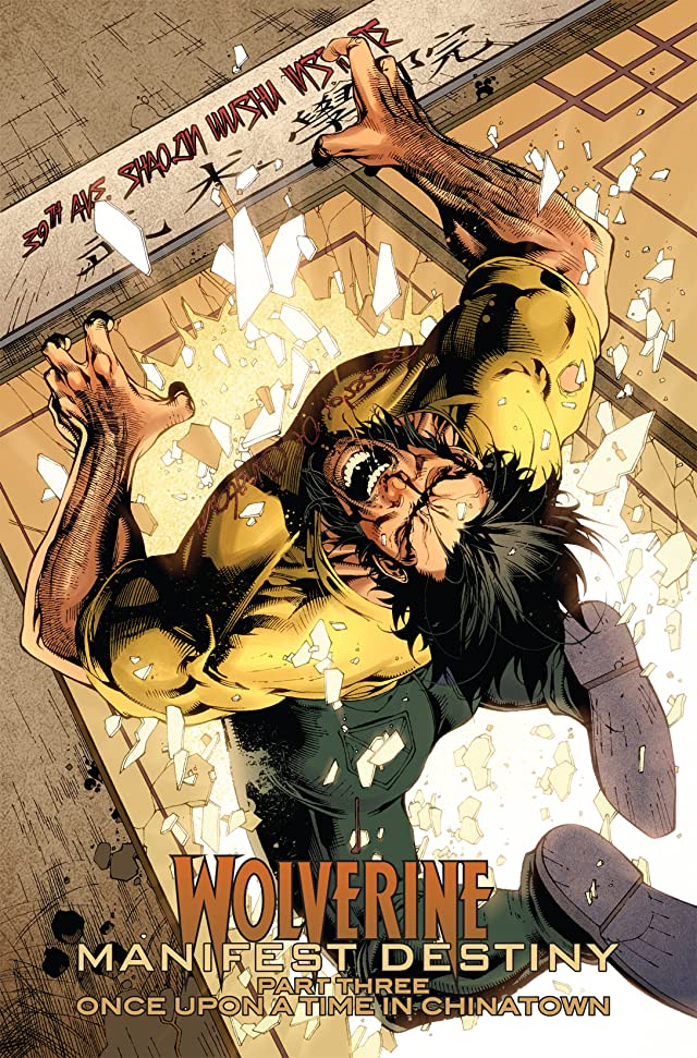 click for super-sized previews of Wolverine: Manifest Destiny #3