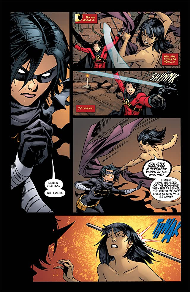 click for super-sized previews of Red Robin #25