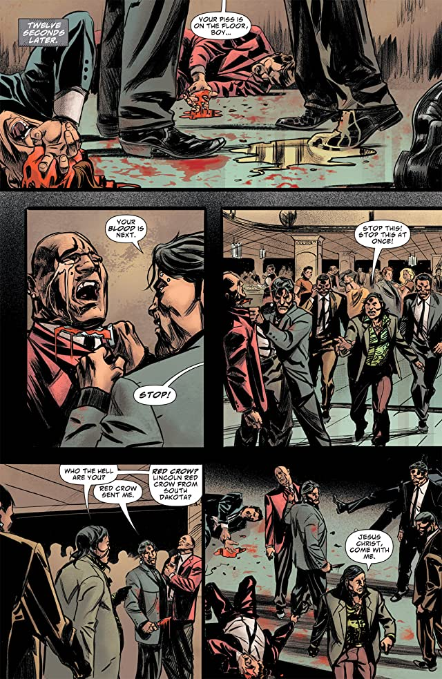 click for super-sized previews of Scalped #36