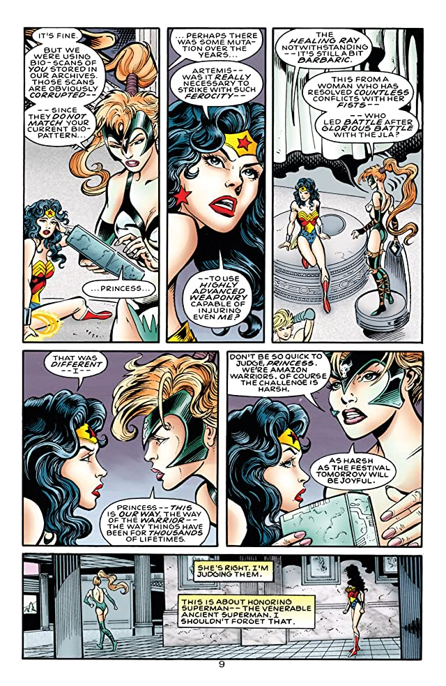 click for super-sized previews of Wonder Woman (1987-2006) #1000000