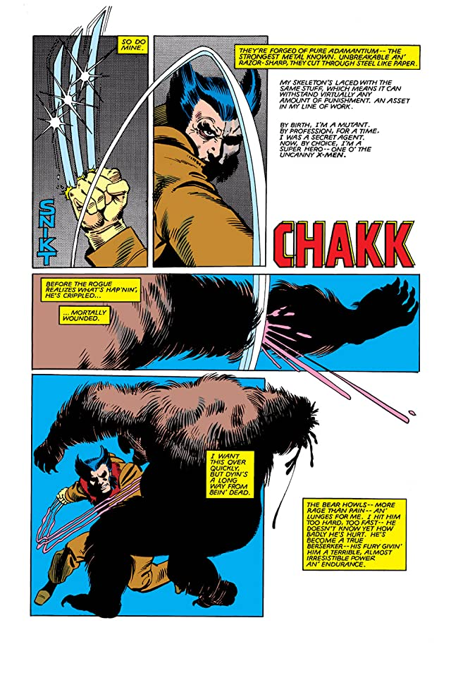 click for super-sized previews of Wolverine (1982) #1
