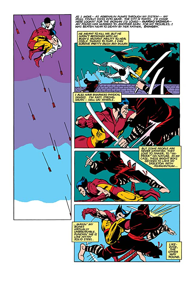 click for super-sized previews of Wolverine (1982) #2 (of 4)