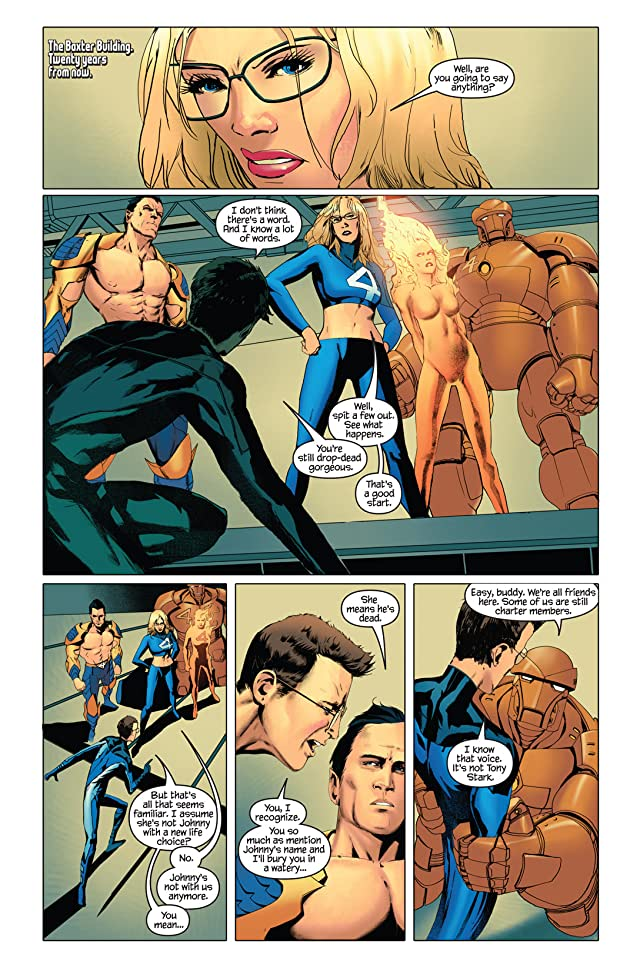 click for super-sized previews of Ultimate Fantastic Four/Ultimate X-Men #1: Annual