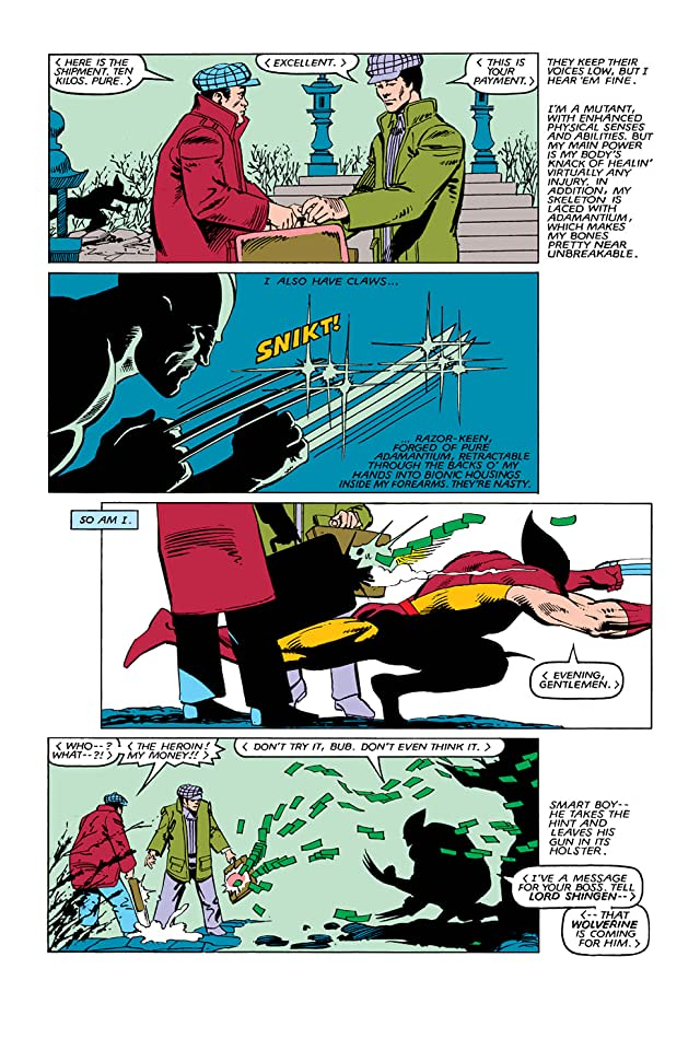 click for super-sized previews of Wolverine (1982) #4 (of 4)