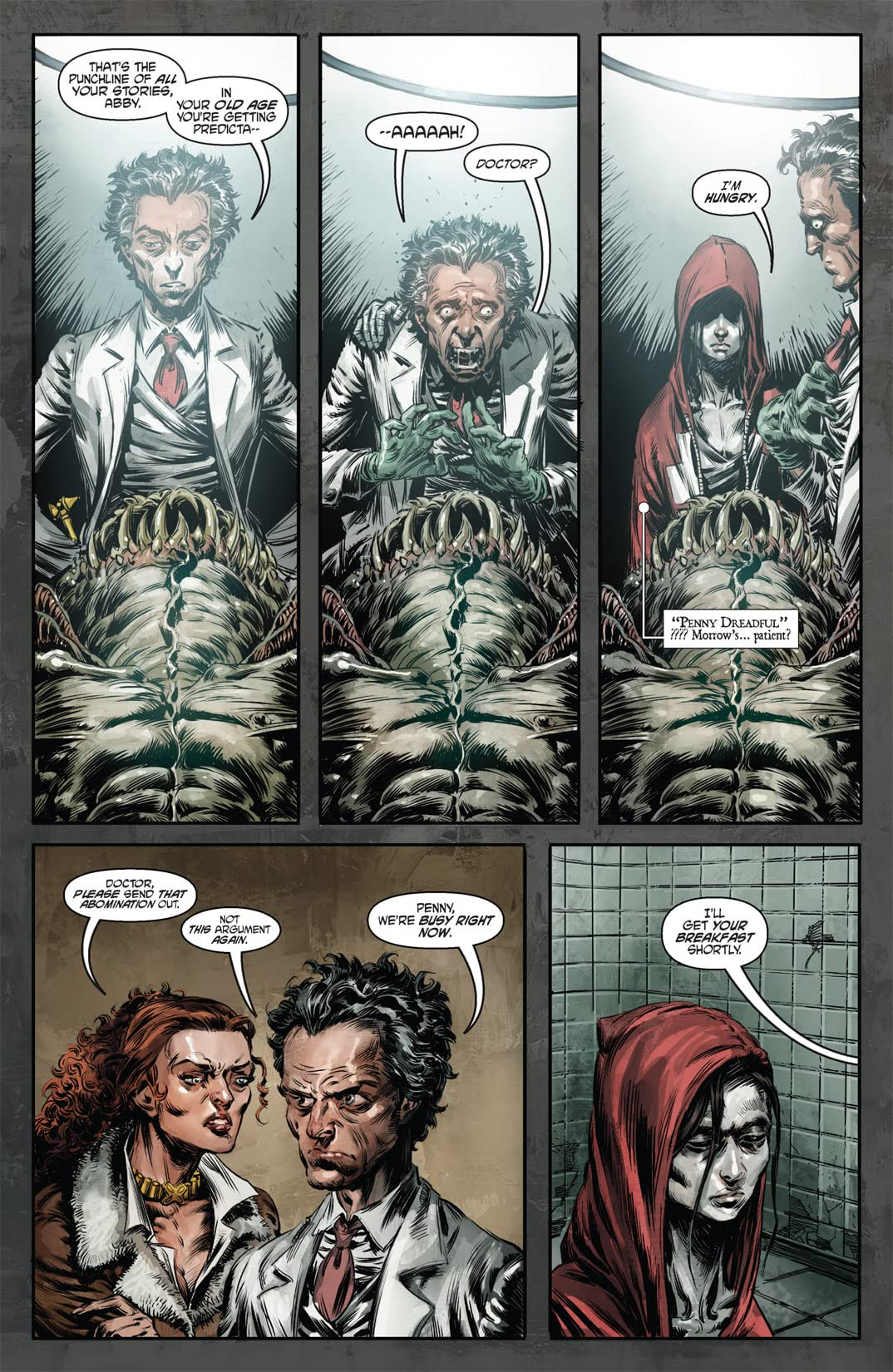 Witch Doctor #3 (of 4)
