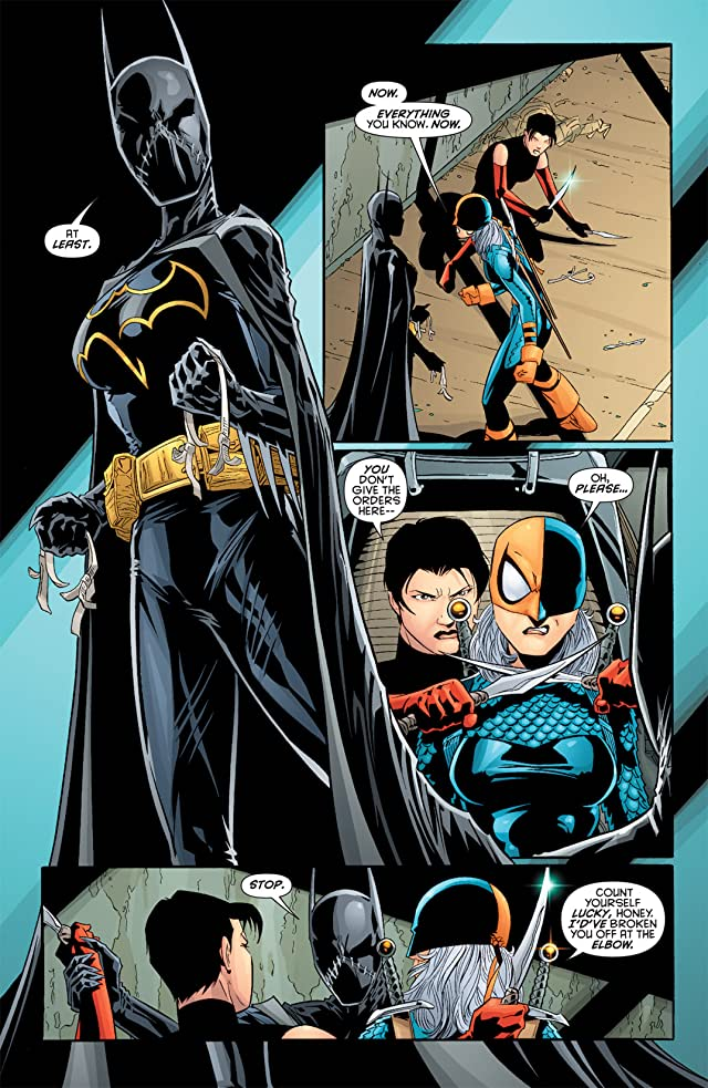 click for super-sized previews of Batgirl (2008) #3